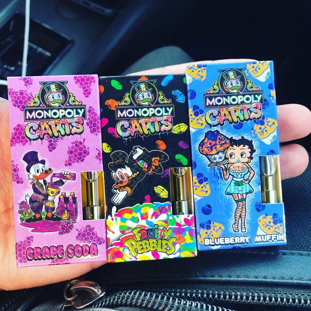 monopoly carts thc