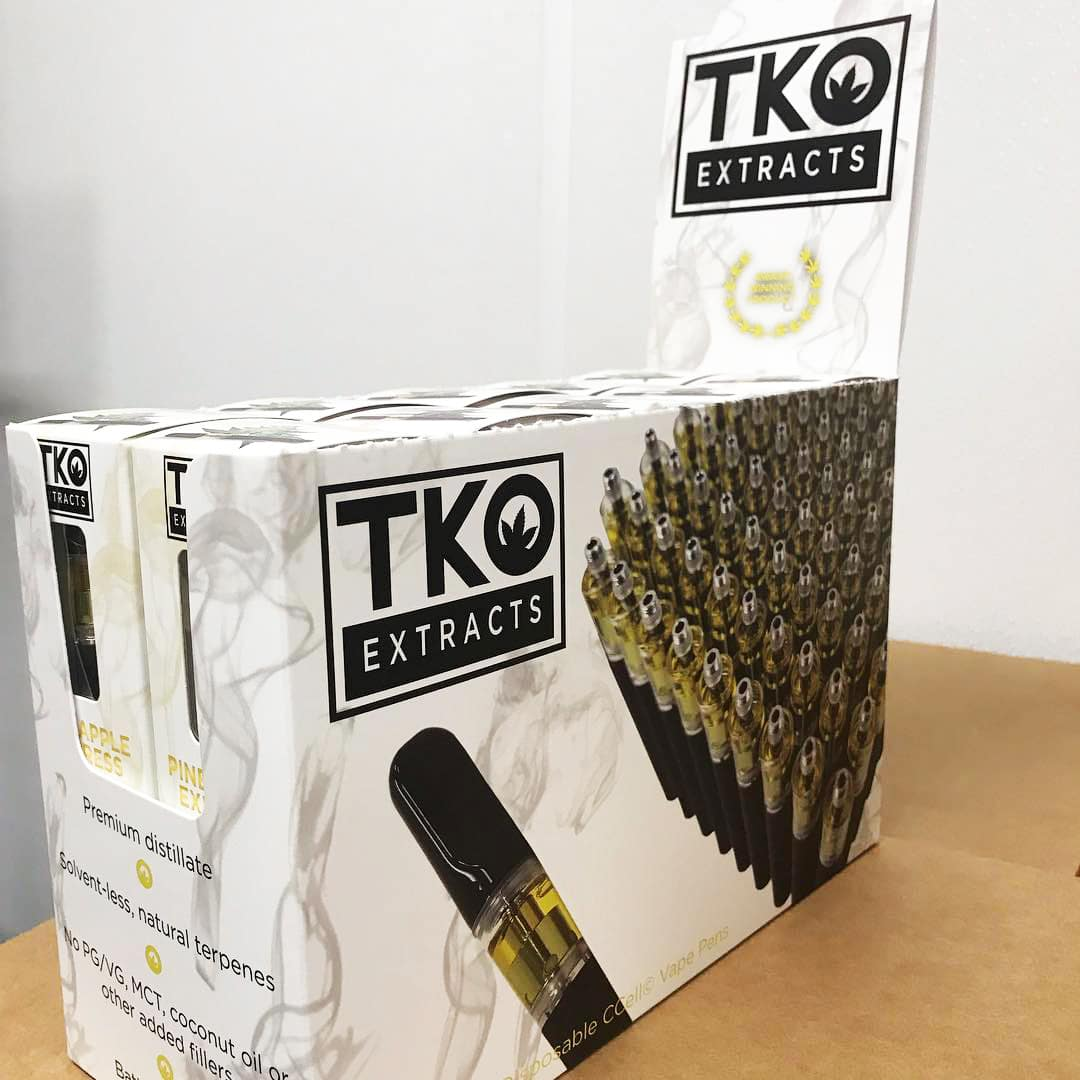 Fake TKO Extracts Cartridges Became More Popular Than Actual