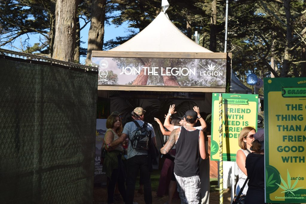 Legion of bloom at outside lands