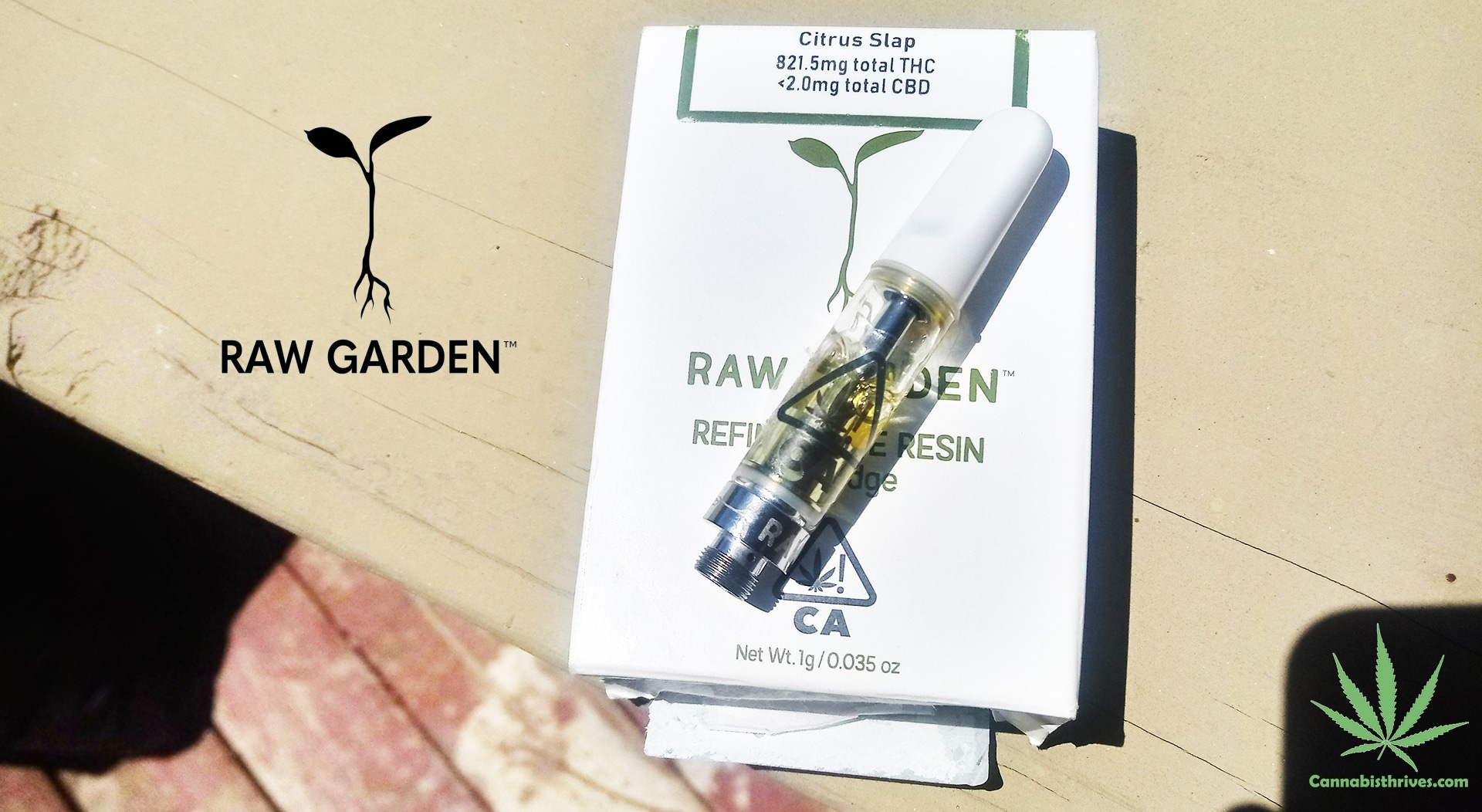raw garden citrus slap