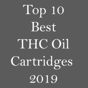 Best prefilled THC oil cartridges 2019