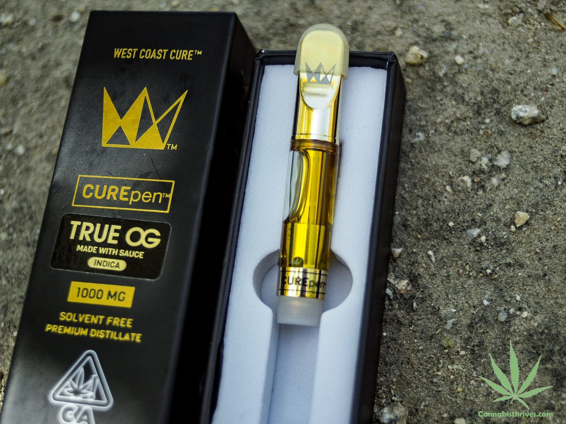 west coast cure cartridge