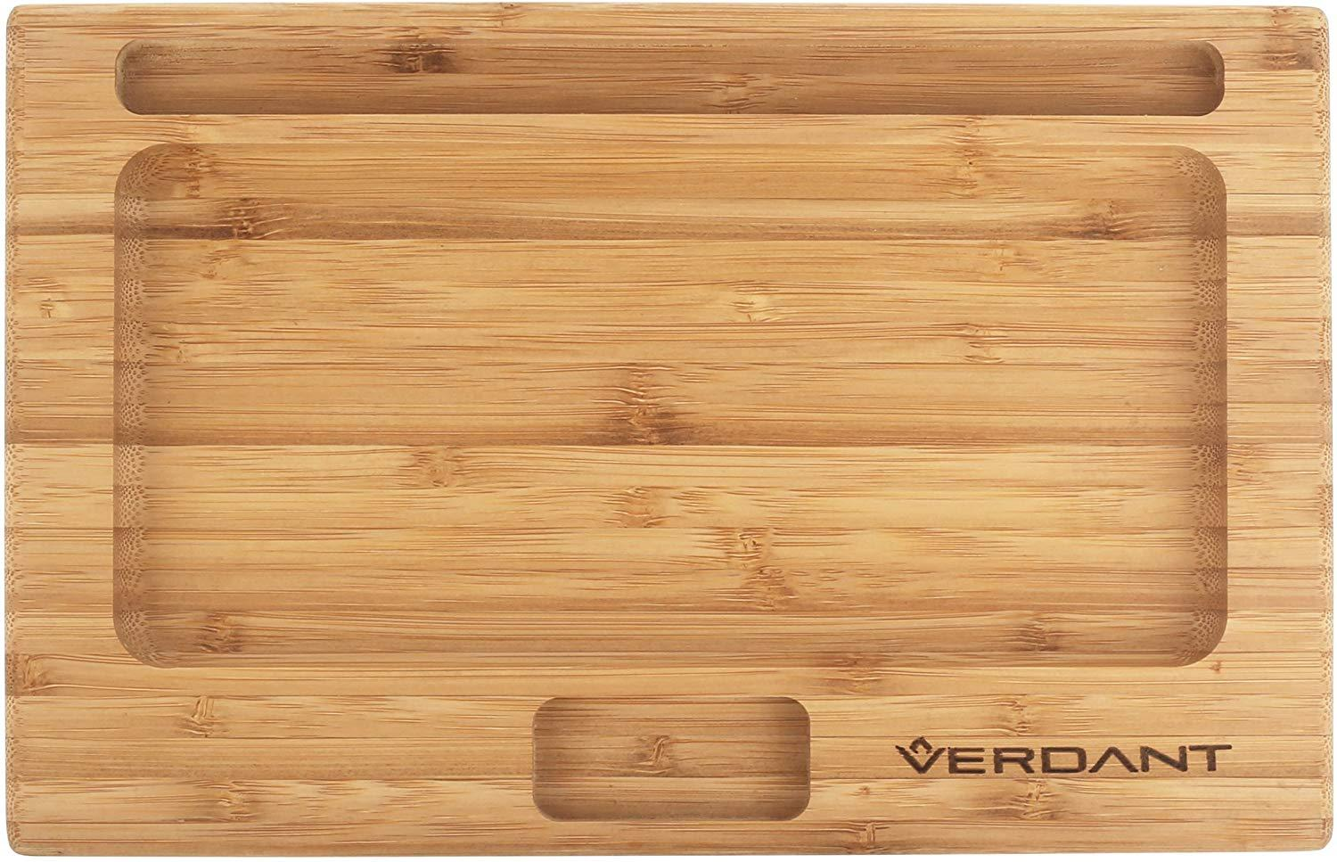 large wood rolling tray