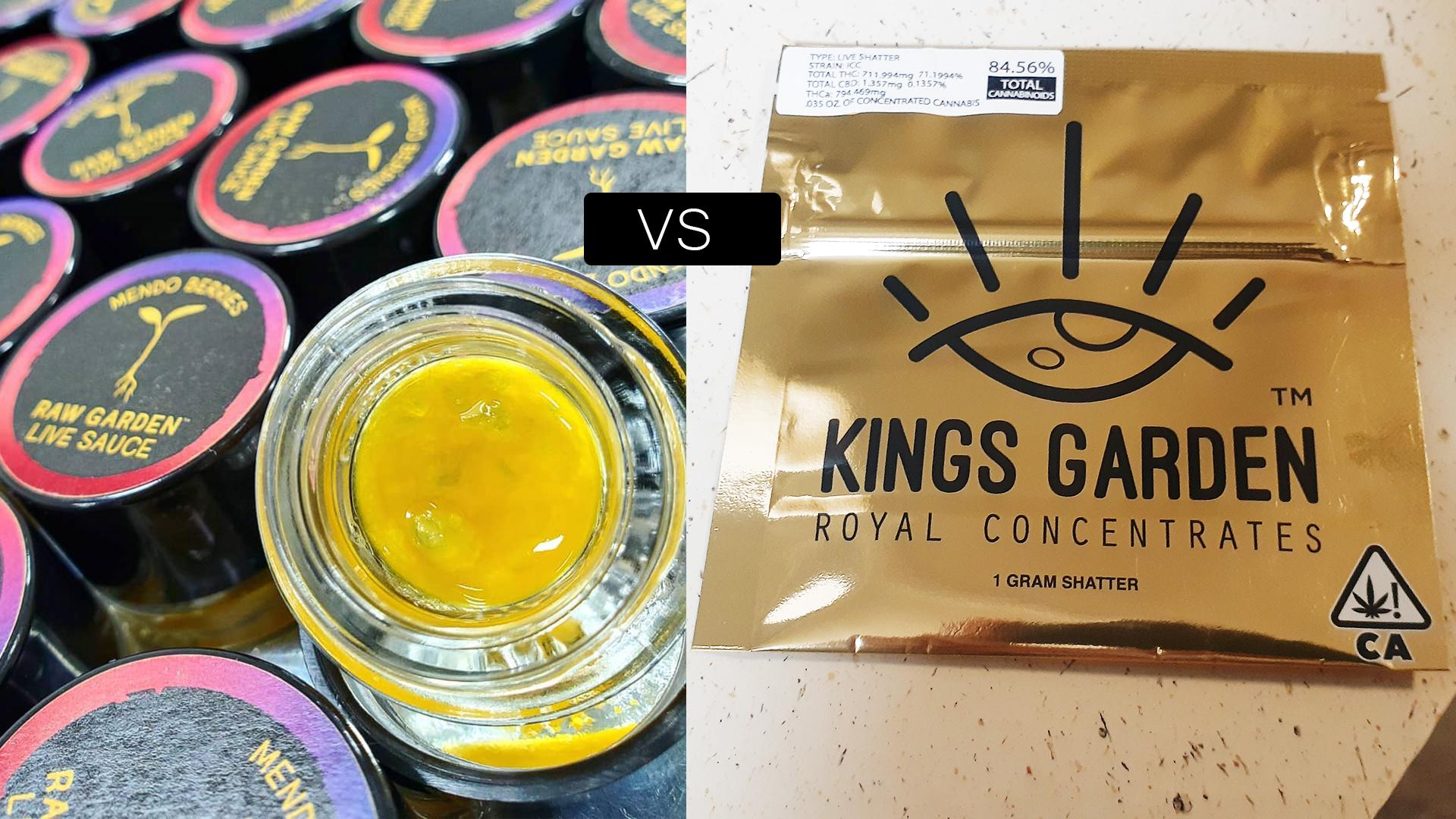 raw garden vs kings garden
