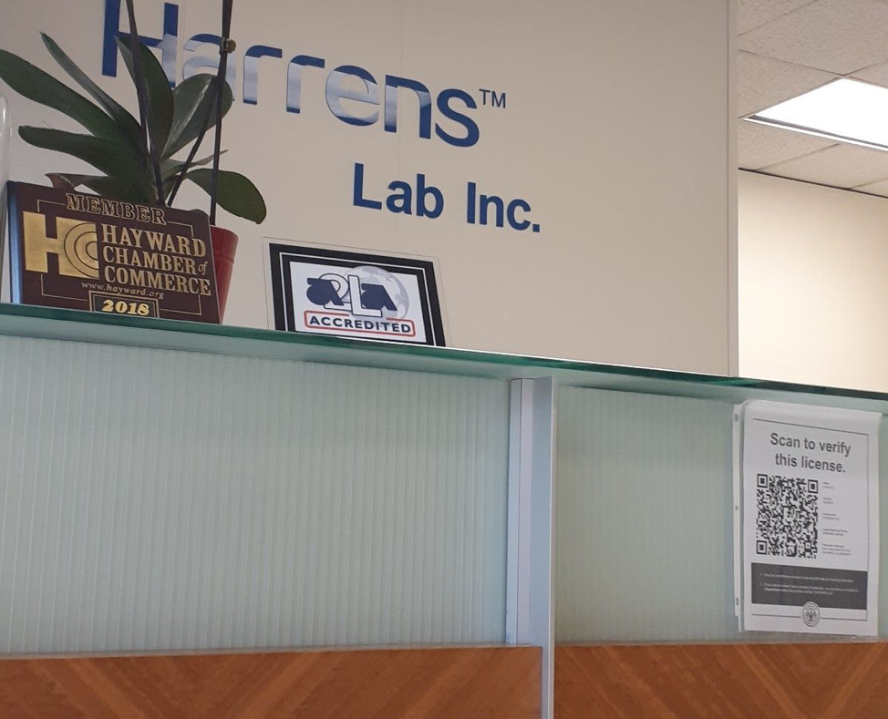 harrens lab hayward ca