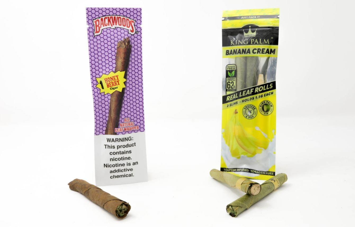 backwood vs king palm pre rolled cones